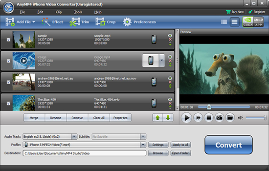 AnyMP4 iPhone Video Converter 6.0.32