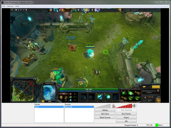 Open Broadcaster Software 0.613.Beta